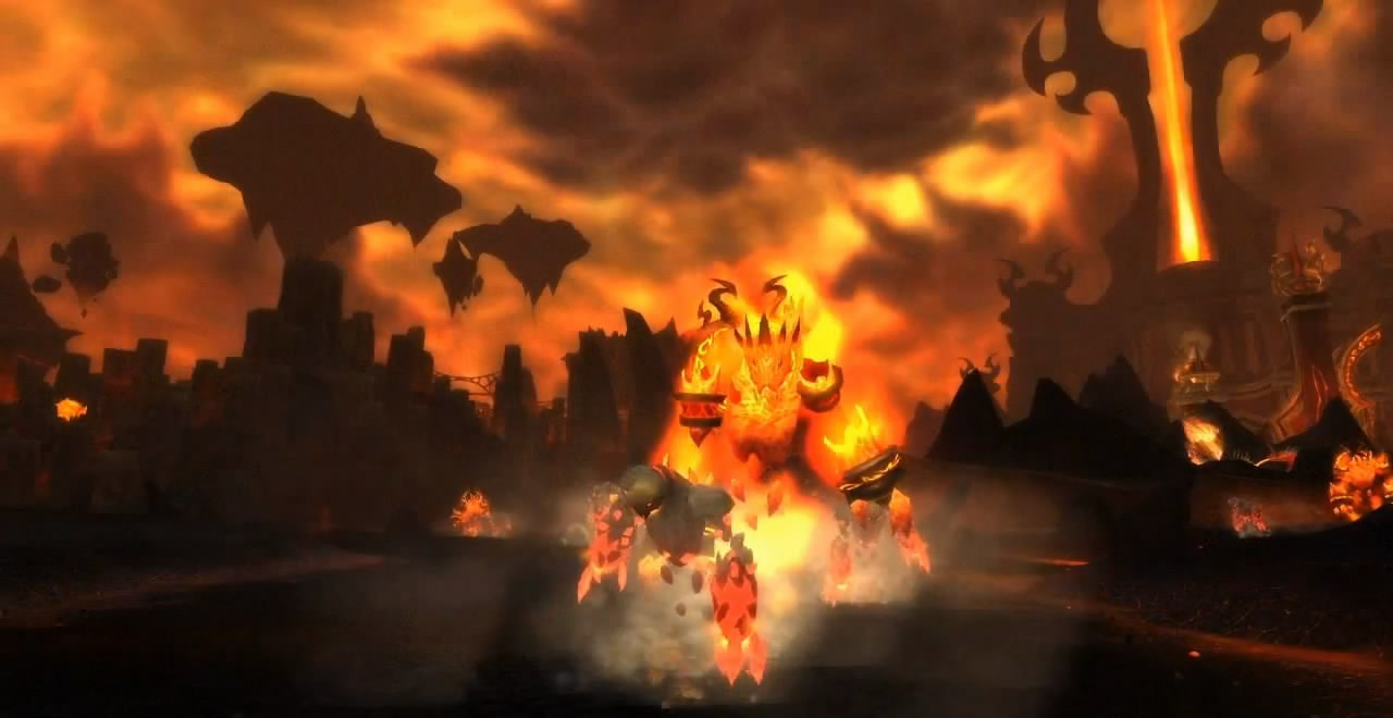 WoW Trailer: World of Warcraft: Cataclysm v4.2 Patch Raid Preview Trailer